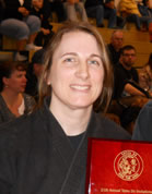 Sensei Rebecca Roztocil, 3rd Degree Karate, 2nd Degree Iai