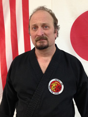 Master Jim Wheeler, 5th Degree karate/Kobudo, 2nd Degree iai