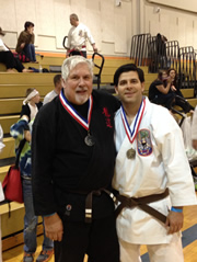 Brian Webster-2nd Place Kata