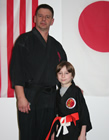 Keenan Rowcliffe ranked to Orange Belt 2/9/16